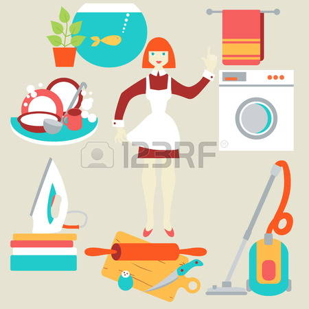 1,471 Domestic Worker Stock Vector Illustration And Royalty Free.