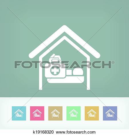 Clipart of Medical to domicile k19168320.