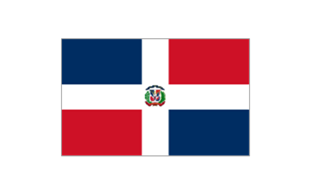 North and Central America flags.