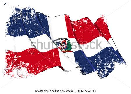Dominican Republic Flag Stock Photos, Royalty.