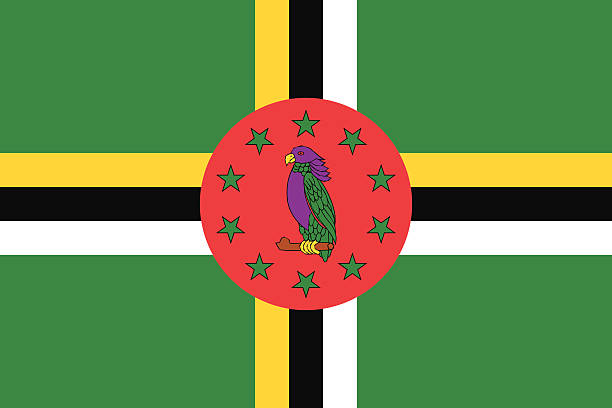 Dominica Flag Clip Art, Vector Images & Illustrations.