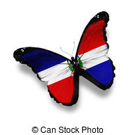 Independence day dominican republic Clip Art and Stock.