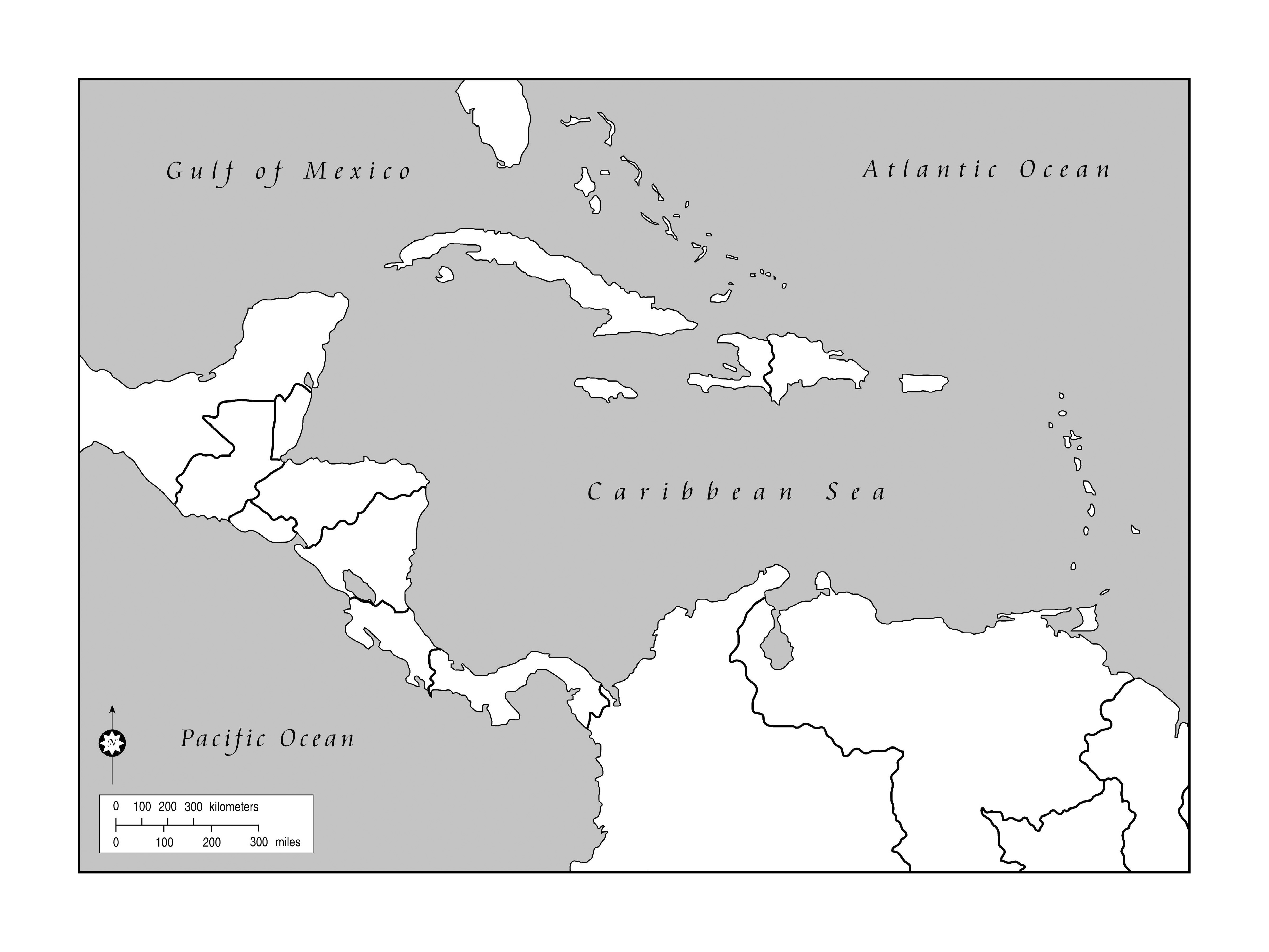 Outline Map Of Dominican Republic And Haiti With Outline Clipart.