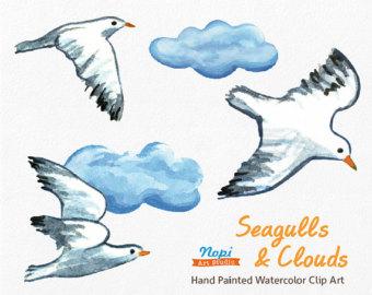 seagull clip art.