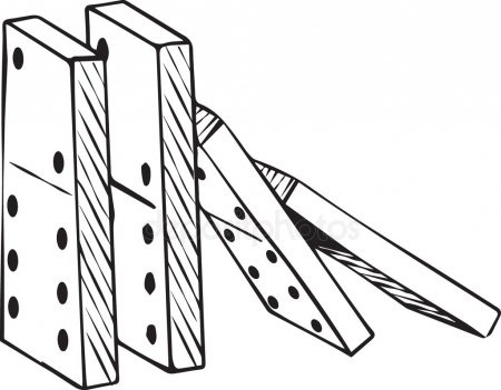 Dominoes Stock Vectors, Royalty Free Dominoes Illustrations.
