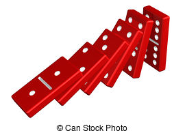 Domino effect Stock Illustration Images. 718 Domino effect.