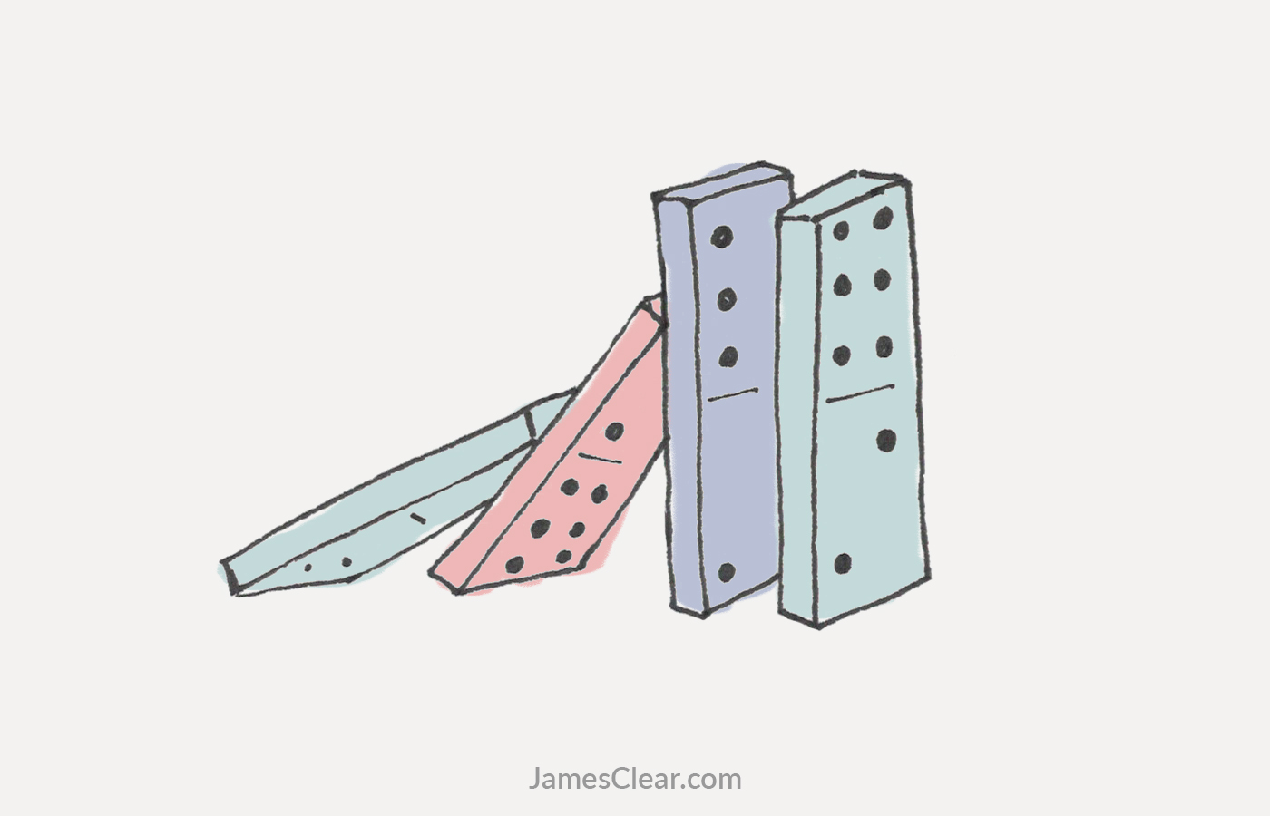 The Domino Effect: How to Create a Chain Reaction of Good Habits.