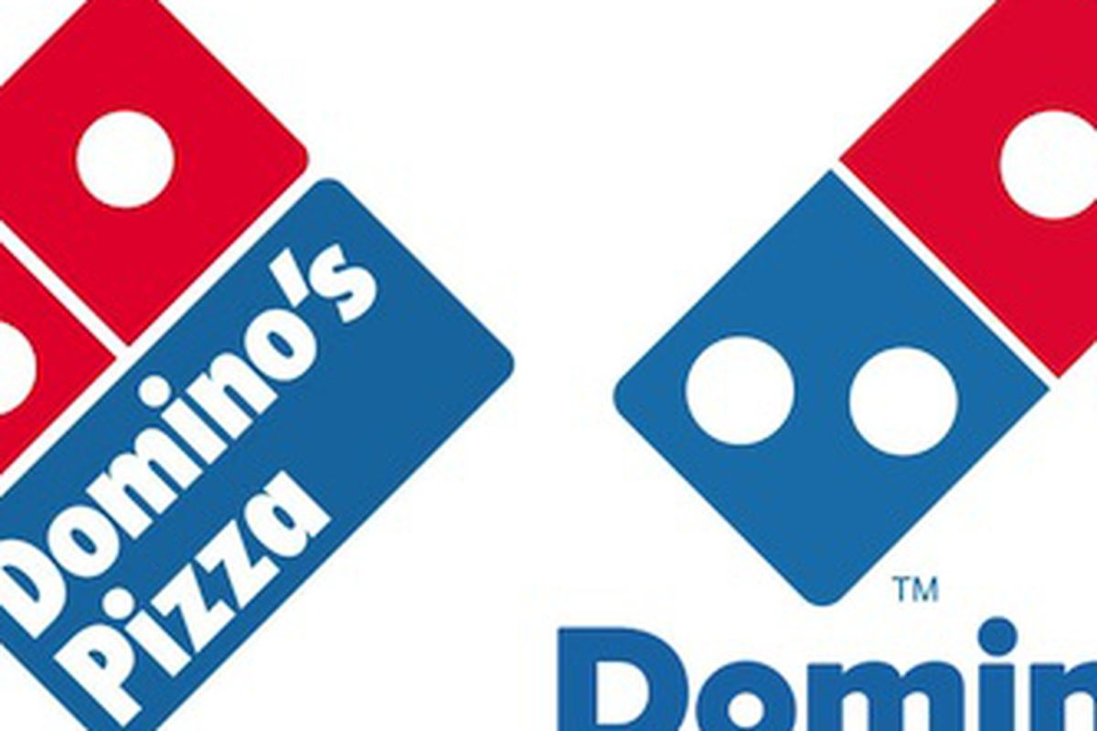 Domino\'s Removes \'Pizza\' From Its New Logo.