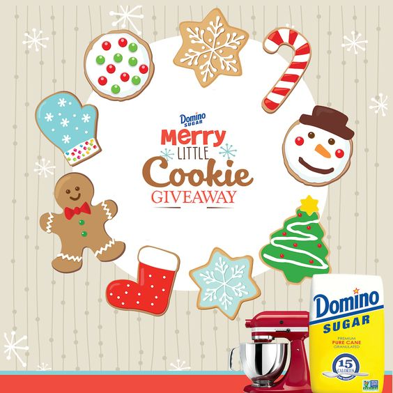 Domino® Sugar's Merry Little Cookie Giveaway.