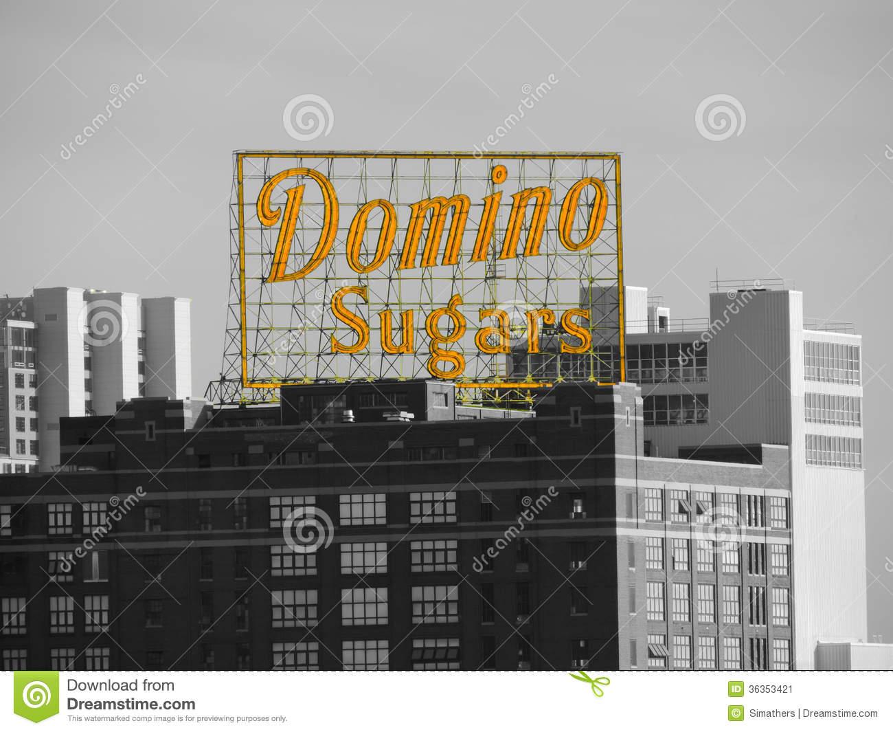 NYC: Domino Sugar Factory In Queens Editorial Stock Image.