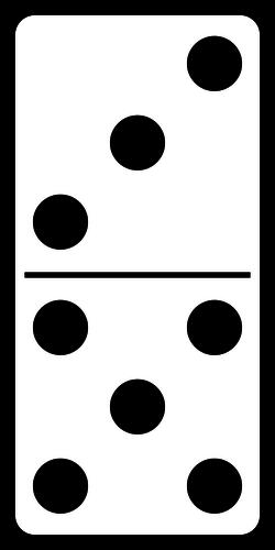 31 domino free clipart.