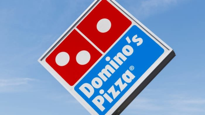 Dominos Pizza stock has gained 3400% since 2010.