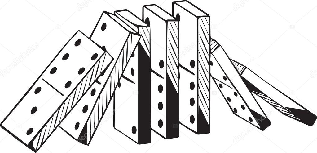 14 cliparts for free. Download Domino clipart falling stock vectors.