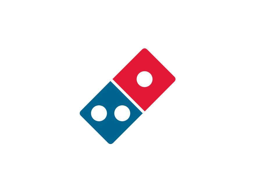 Domino\'s logo.
