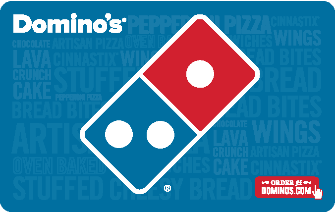 Domino\'s® Pizza Gift Card.