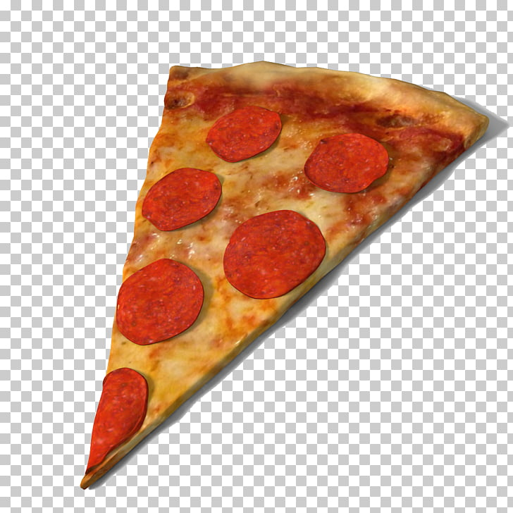 Dominos Pizza Pepperoni Fast food 3D modeling, Pizza Slice Free PNG.
