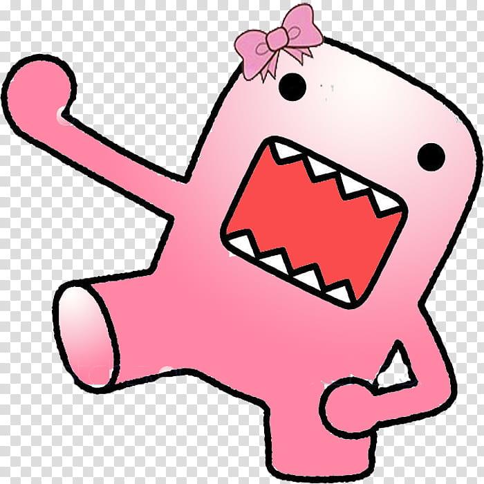 Domo Pink , pink Domo.