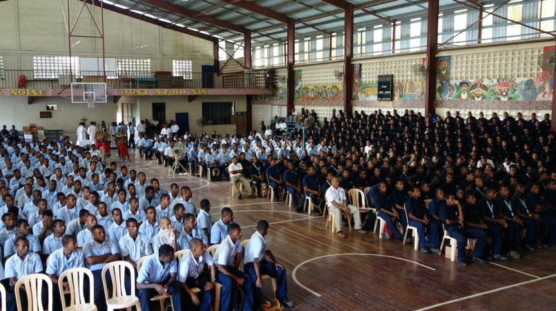 Don Bosco Gabutu opens Academic year.