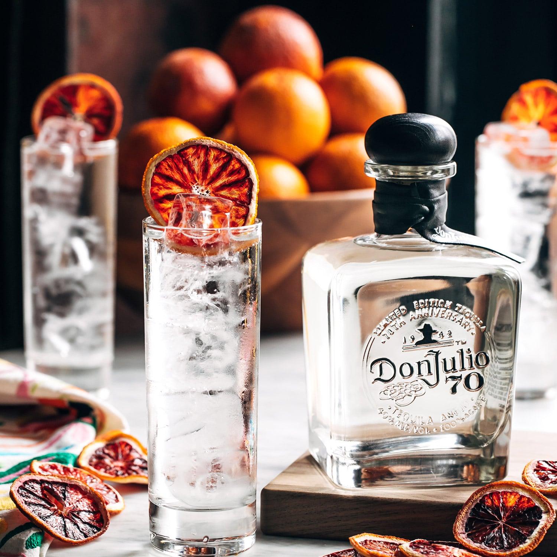 Don Julio 70 & Soda Cocktail.