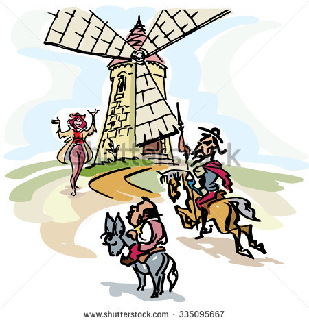 Don quijote clipart #7