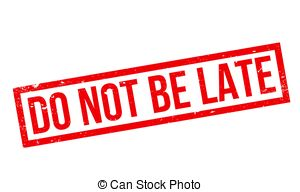 Don t be late Vector Clip Art EPS Images. 24 Don t be late clipart.