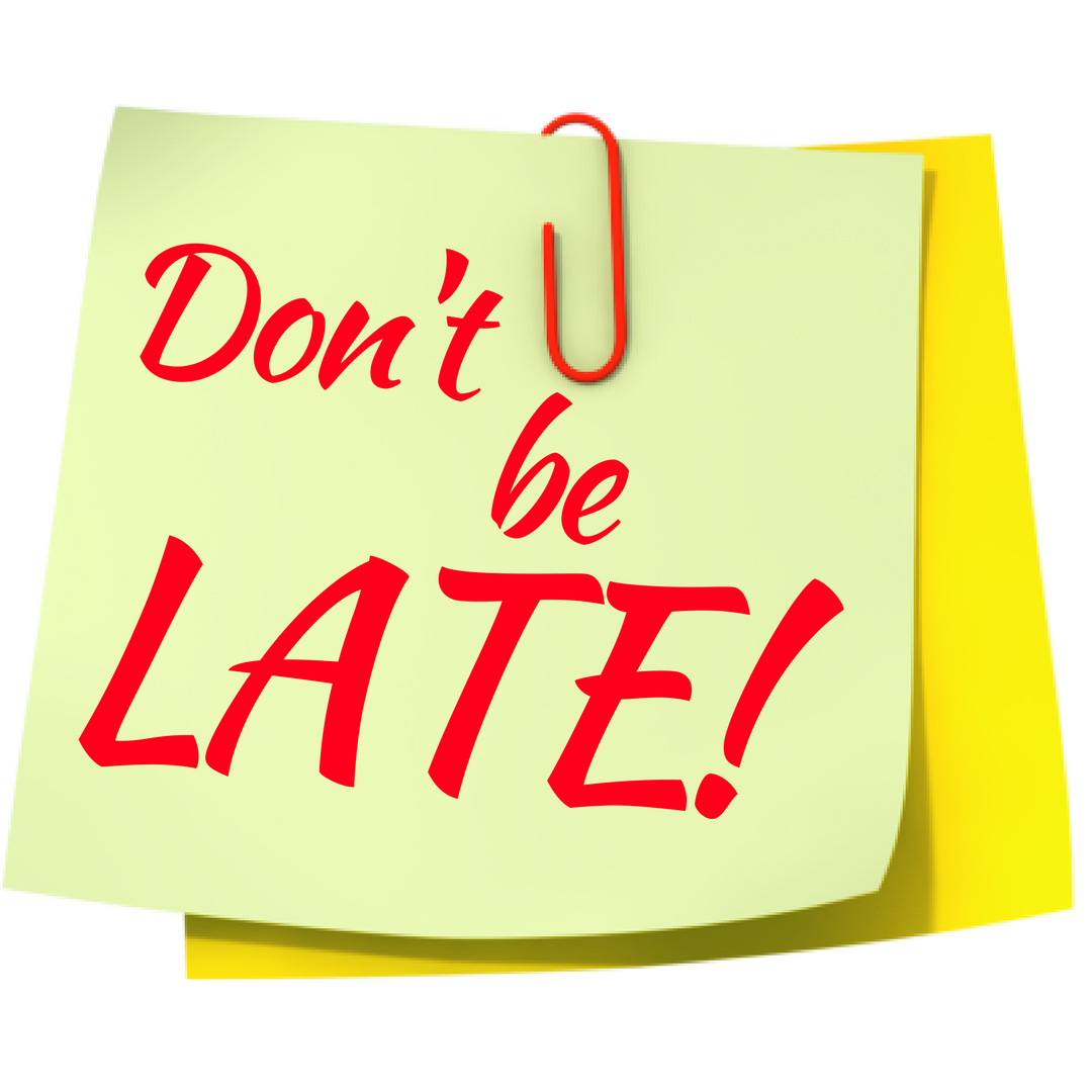 Dont Be Late Png & Free Dont Be Late.png Transparent Images #16938.