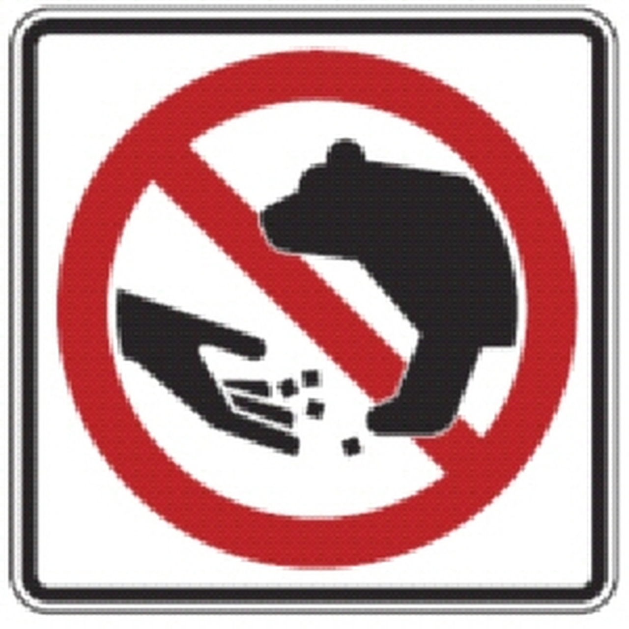 Don\'t Feed the Bears Sign.