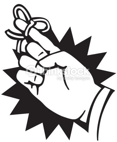 Clipart String On Finger & Clip Art Images #14954.