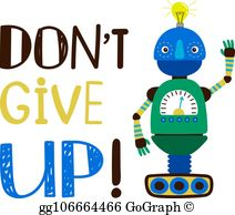 Dont Give Up Clip Art.