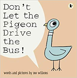 Don't Let the Pigeon Drive the Bus!: Amazon.co.uk: Mo Willems: Books.