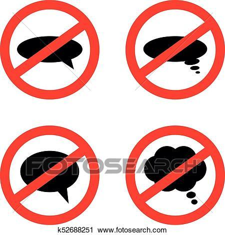 Dont speak clipart 3 » Clipart Portal.