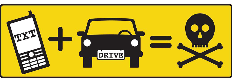 Avoid Texting and Driving, Use Carryout Delivery!.
