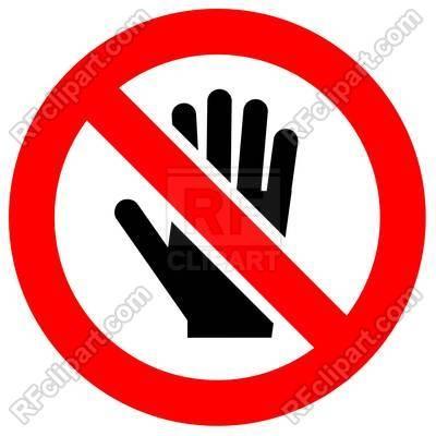 No hand hold!.