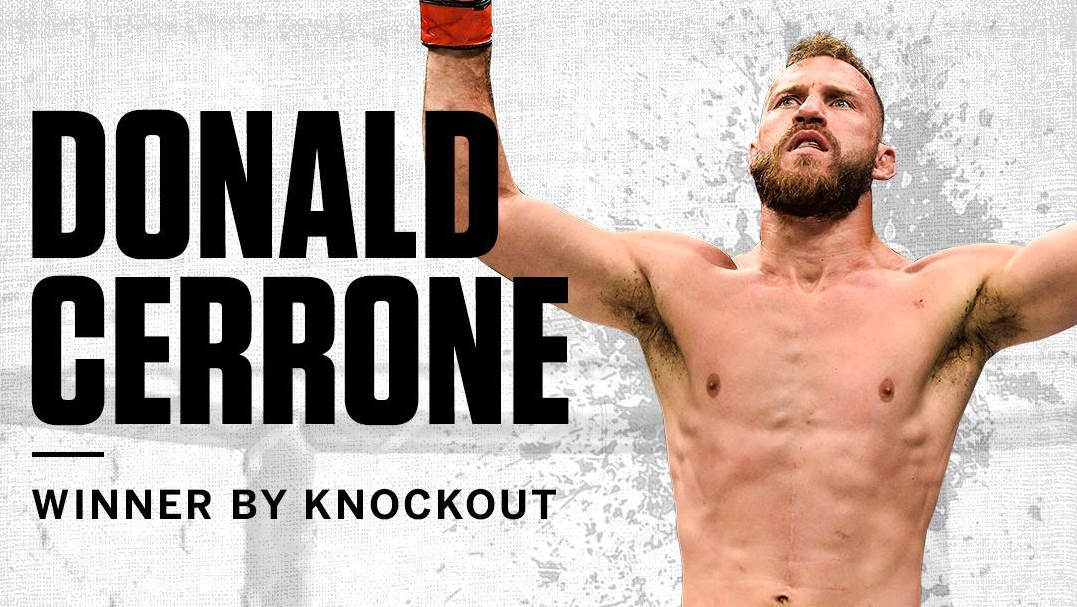 UFC Brooklyn: Donald Cerrone dominates, finishes Alex Hernandez.