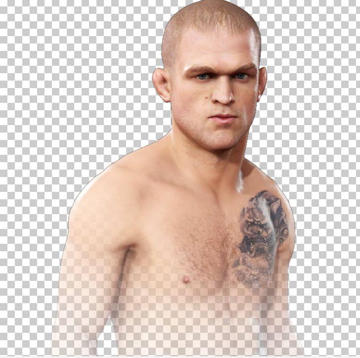 EA Sports UFC 3 Light Fighter Facial Hair Barechestedness PNG.