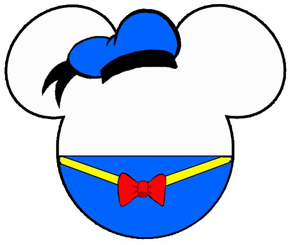 Donald Duck Cliparts.