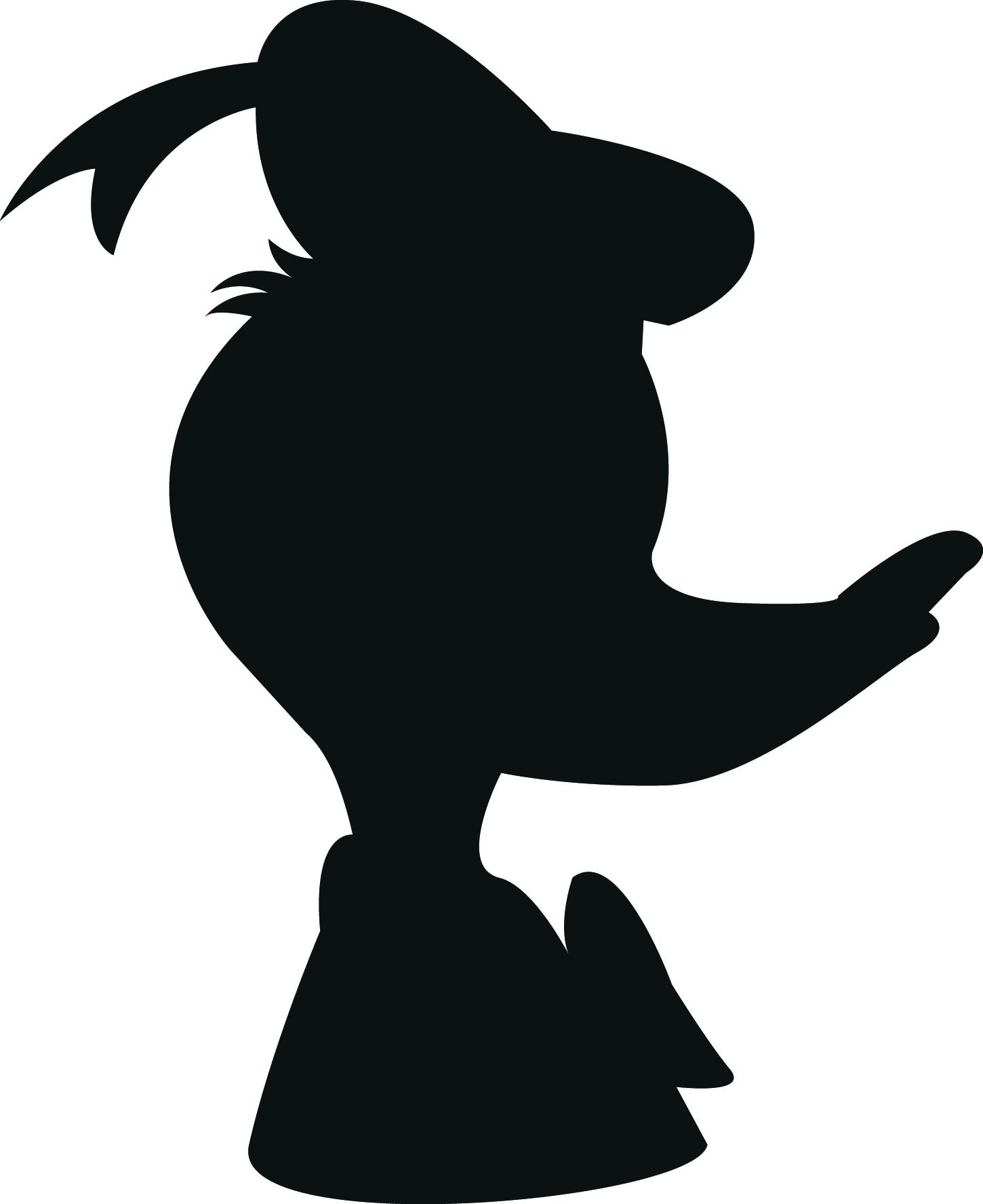 416 Donald Duck free clipart.