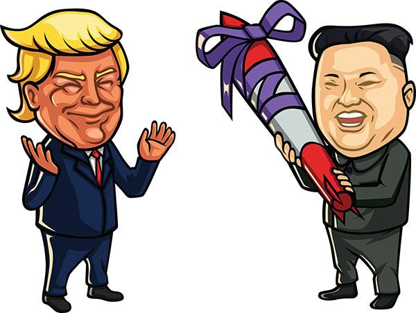 18 FREE Donald Trump Clipart Cartoons.