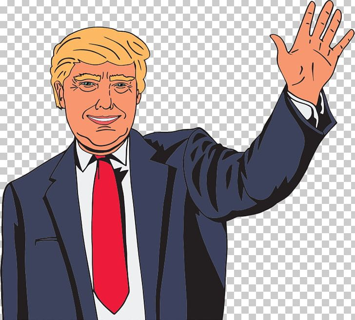 Donald Trump Stephen Colbert Our Cartoon President Television Show.