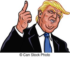 Trump Clipart Vector and Illustration. 470 Trump clip art vector EPS.