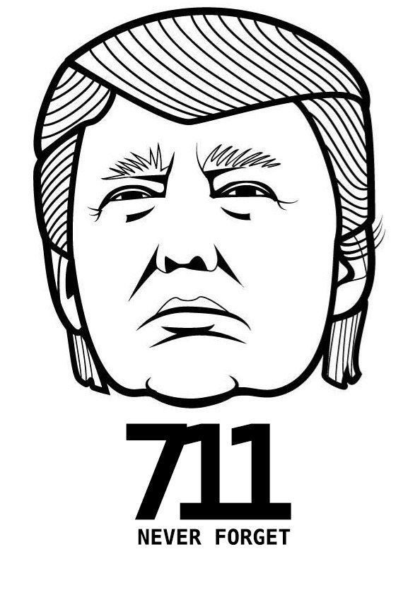 Donald trump clipart black and white 2 » Clipart Portal.