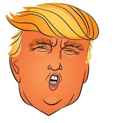 1091 Trump free clipart.