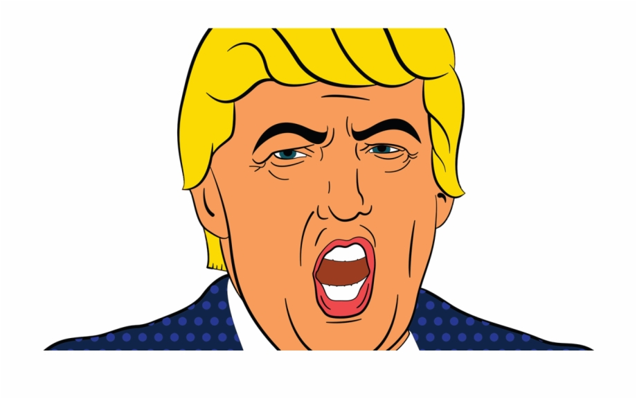 Hat Png Transparent Images Donald Trump Face Clipart.