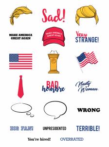 Trump Hair Clipart.