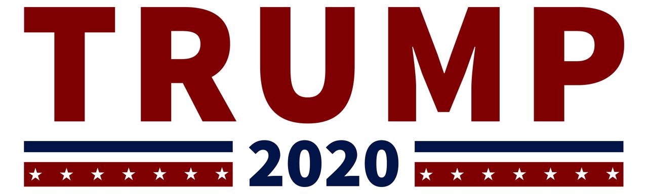 Trump 2020 Sticker.