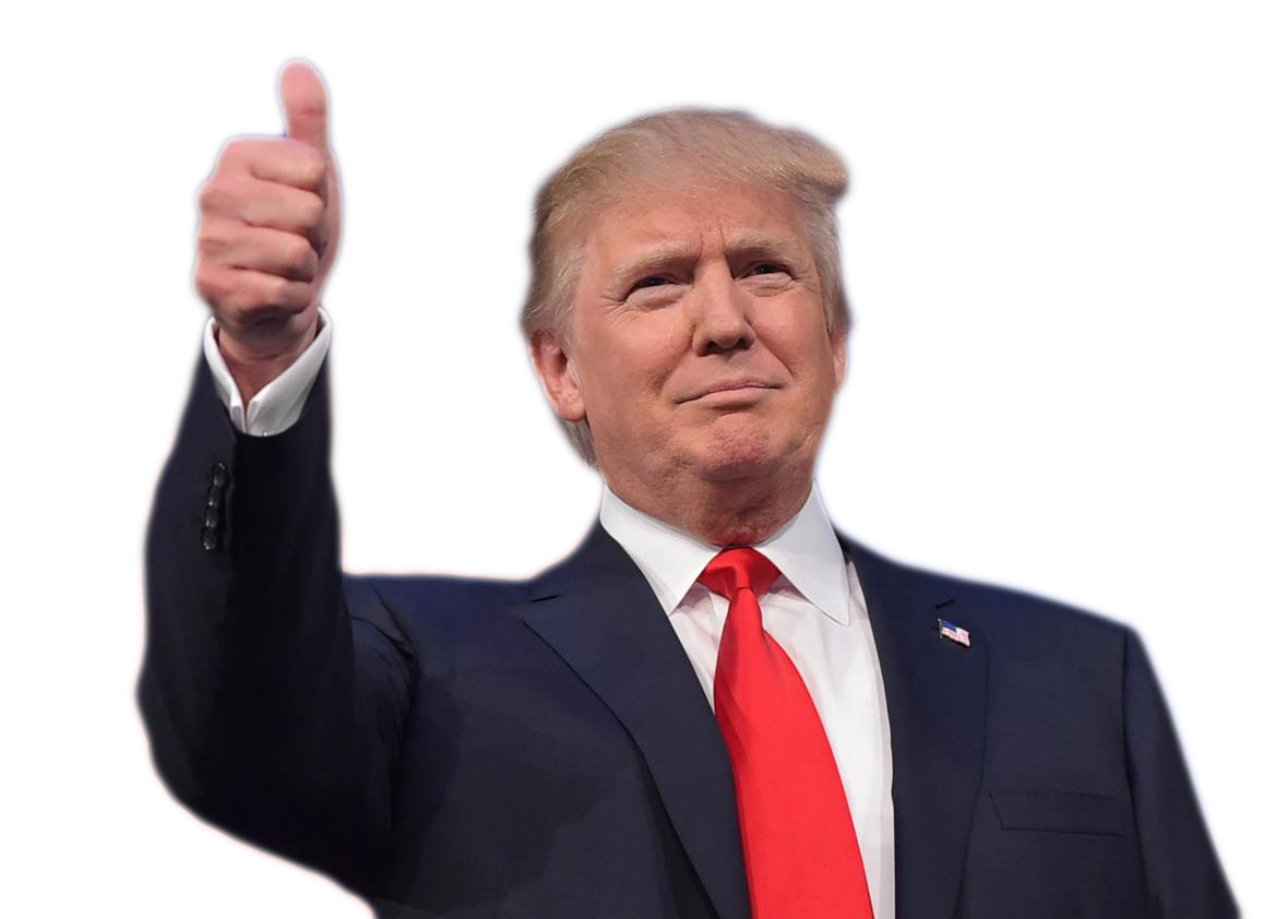 Donald Trump PNG images free download.