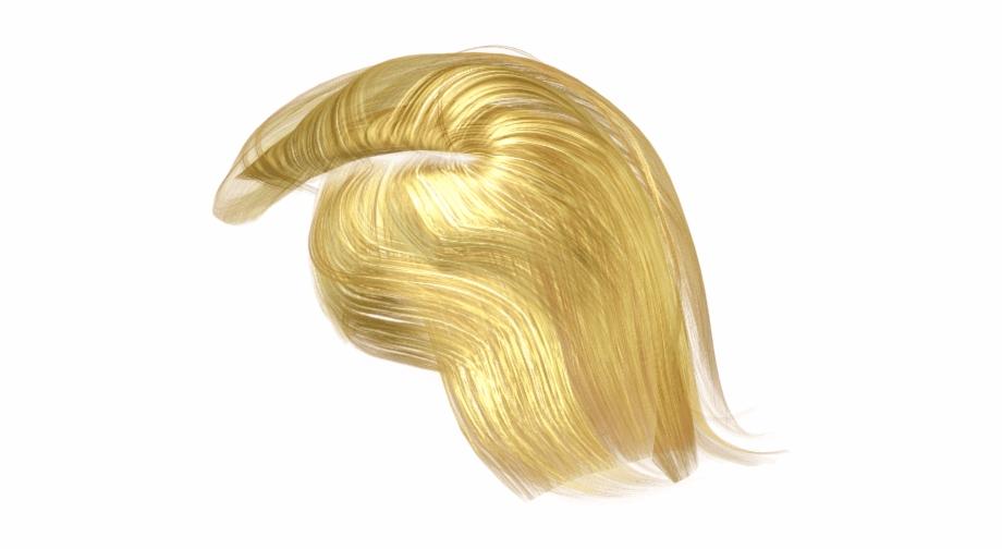Trump Wig Png Transparent Background.