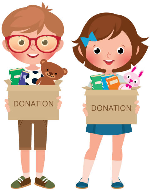 Best Donate Toys Illustrations, Royalty.