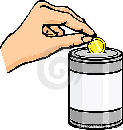 Monetary donation clipart #11