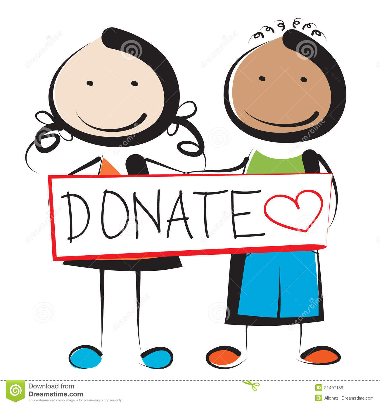 Donations Clip Art.